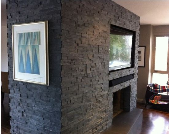 4 sided fireplace