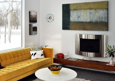 Daring To Decorate With Yellow